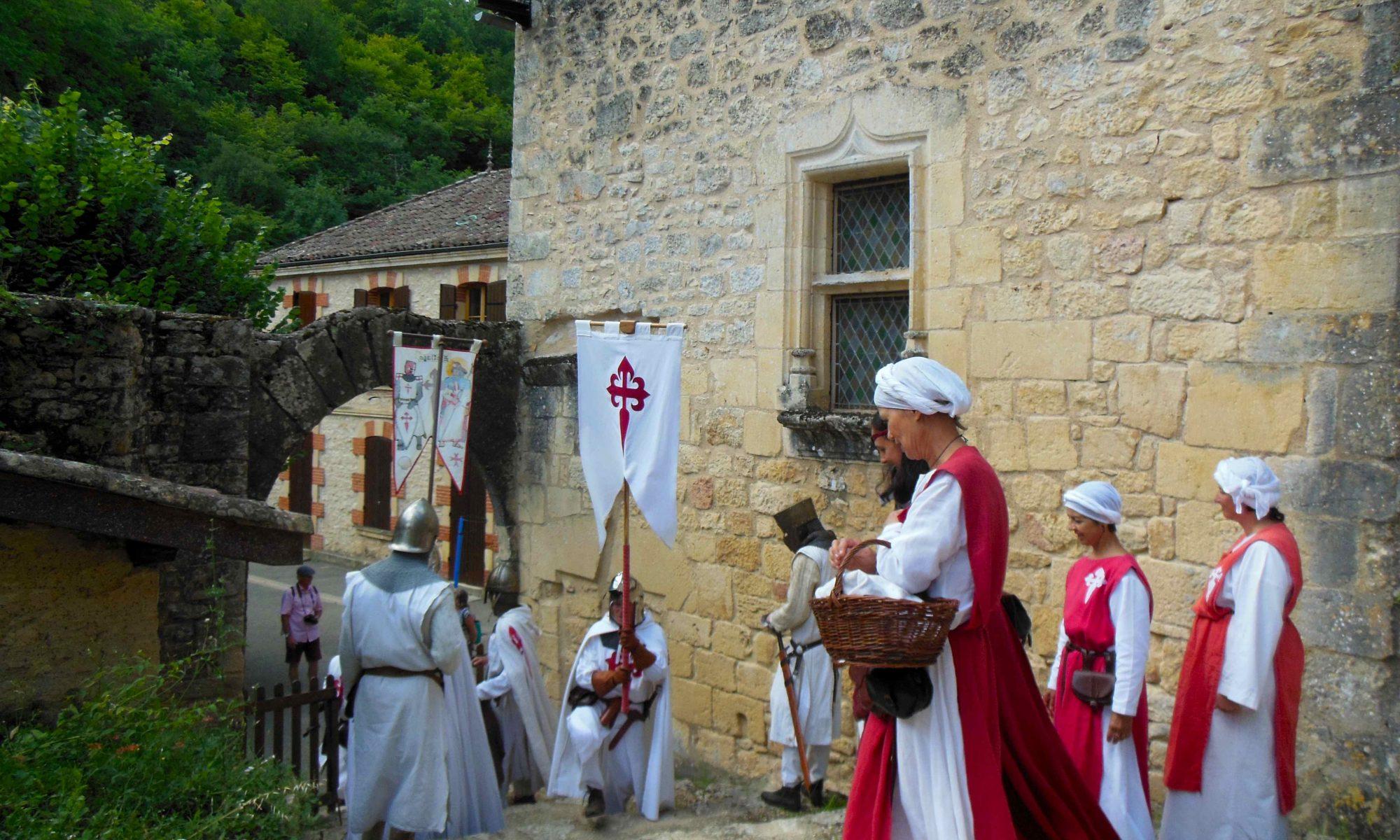Troupe lors de la foire médiévale 2018